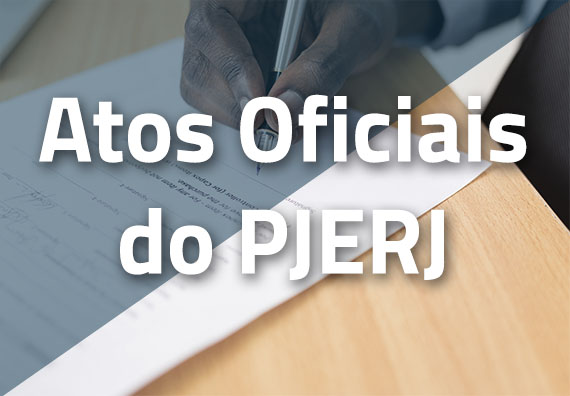 Atos Oficiais do PJERJ