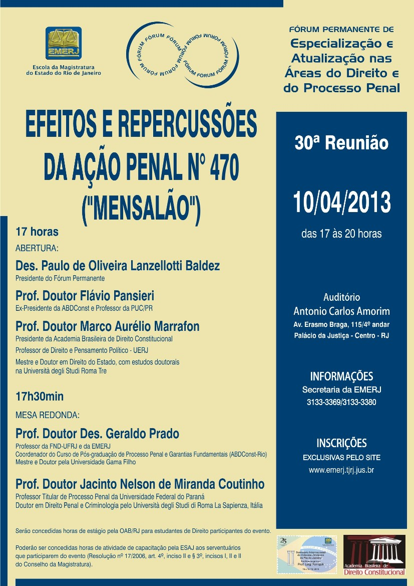 Poder Judiciário do Estado do Rio de Janeiro  Tribunal de