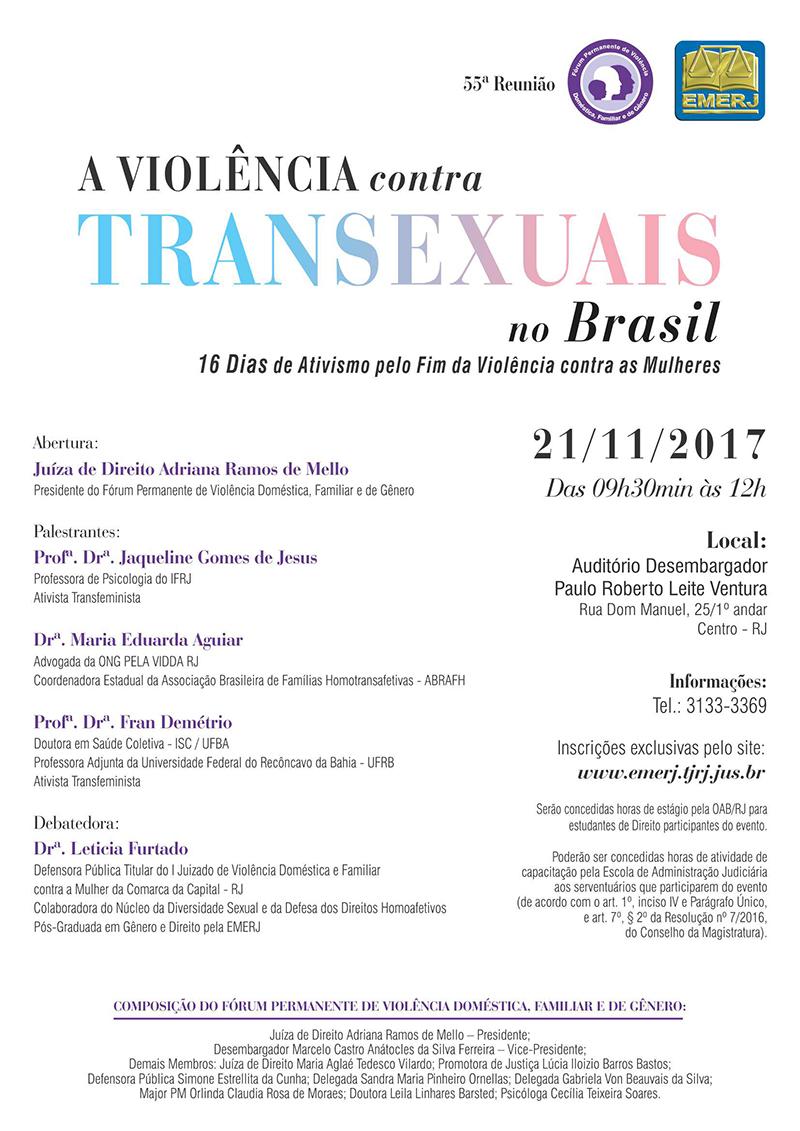 A Violência contra Transexuais no Brasil